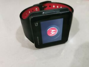 Motorola MOTOACTV 8GB Stainless Steel Case Black/Red Sport Band   PY27