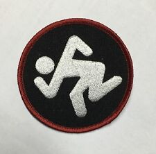 "DRI - Skanker Thrash Black Round Embroidered 3"" Patch Punk Rock Metal - NEW"