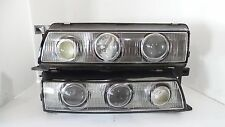 JDM 89-94 NISSAN OEM 240SX SILVIA S13 TRIPLE PROJECTOR HEADLIGHT PAIR SR20DET