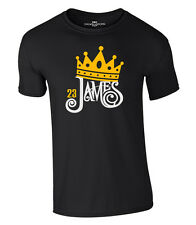 King James 23 Camiseta Lebron Corona Corona los Angeles Lakers Jersey Camiseta