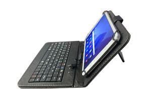 """Tasche inkl. USB-Tastatur Schutzhülle 7 und 8"""" Samsung Galaxy Tab"""