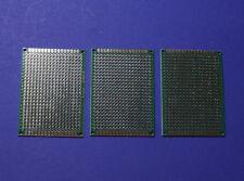 3X Doppelseitige Platine Doublesided Prototype Board 5x7cm Lochraster Experiment