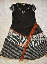 Biba Stretch Kleid M L 38 40 TOP