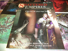 Shattered Empires Quicklaunch Edition RPG Roleplaying Book PCI 1500 Paradigm Con