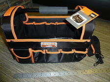 """BAHCO OPEN TOP ELECTRICIANS TOOL BAG Genuine 450mm 17"""" TOTE BRAND NEW! 3100TB"""