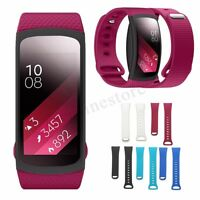 Replacement Silicone Wristband Watch Band Strap For Samsung Gear Fit 2