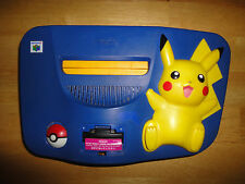 POKEMON PIKACHU EDITION Blue & Yellow NINTENDO 64 N64 Console System Deck Only