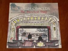 """CAMERA OBSCURA THE SWEETEST THING TOUGHER THAN THE REST 7"""" VINYL 4AD PRESS 2009"""