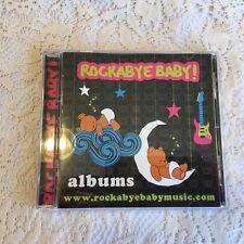 Rockabye Baby! lullaby renditions of aerosmith CD 2009