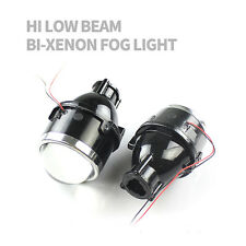 Universal Fog Lamps Bi-xenon Fog light Projector Lens For Car Motorcycle 2.5""