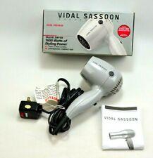 VIDAL SASSOON Travel Hair Dryer #VS513  2 speed 2 Heet settings New