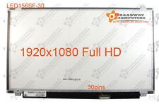 "15.6"" Slim LED FULL HD Screen 30 pins B156HTN03.6  N156HGE-EBB LP156WF6 SP A1"