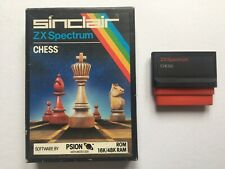 Sinclair ZX Spectrum 16/48K ROM Cartridge Chess Game By PSION