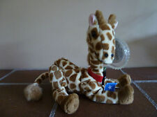 Coca-Cola 1998 Beanie Plush RIFRAF THE GIRAFFE-SOMALIA Soft Toy -Rare Vintage