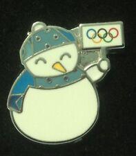 PYEONGCHANG 2018 OLYMPIC GAMES. SMALL IOC PIN. SNOWMAN