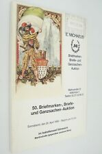 Briefmarken Briefe und Ganzsachen Auktion German Stamp Auction Catalog 1986
