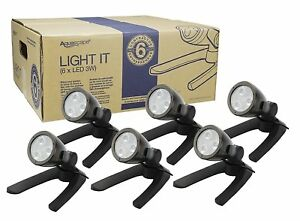 Aquascape 84047 3W Contractor Pond and Landscape Spot Light (Pack of 6)
