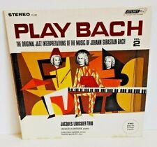 Jacques Loussier Trio Play Bach Vol. 2 London Records PS 288