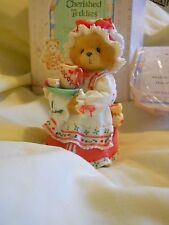 "Cherished Teddies 141119 Holly ""A Cup of Homemade Love"" 1995 Nib"