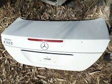 MERCEDES E CLASS E320 E500 W211 REAR TRUNK DECK LID COVER WHITE 03-06