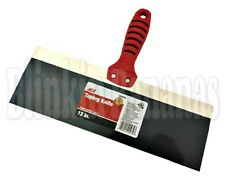 "12"" FLEXIBLE PLASTER BOARD SPATULA DRYWALL JOINT TAPING FILLING KNIFE SCRAPER"