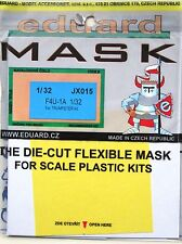 Eduard 1/32 JX015 Canopy Mask for the Trumpeter F4U-1A Corsair kit