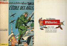 RARE EO TANGUY & LAVERDURE N° 1 CHARLIER + UDERZO : L'ÉCOLE DES AIGLES ( 1961 )