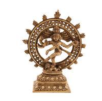 Soprammobile Hindu Da Shiva Nataraja Danza Antico IN di Resina Induismo 4655