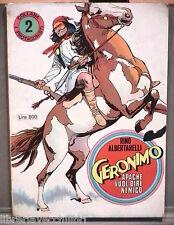 GERONIMO Apache vuol dire nemico Rino Albertarelli Daim Press Fumetti Western di