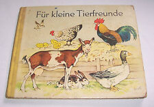 Tolles Fritz Baumgarten Kinderbuch + Für kleine Tierfreunde + 1965 DDR !
