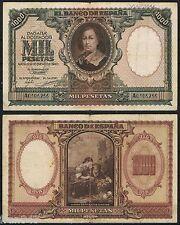 ESPAÑA 1000 PESETAS 1940 MURILLO Serie A0106256 Pick 120 (EL DE LA FOTO)