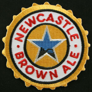 New Castle Beer patch, badge, English brown ale