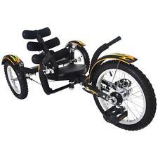 "Mobito 16"" 3 WHEEL Tricycle RECUMBENT Bike for Kid Black"