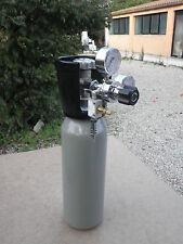 Impianto  anidride  carbonica   acquario  bombola co2 2 kg  con riduttore.