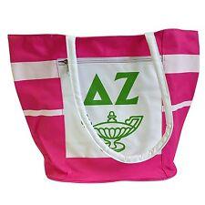 Delta Zeta Canvas Tote Bag