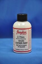 Angelus 2-Thin Acrylic Leather Paint Thinner Reducer- 4 fl oz. NEW