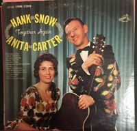 HANK SNOW Together Again ANITA CARTER LP on RCA LSP 2580 MINT