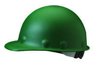 Fibre-Metal Roughneck Cap Style Hard Hat with 8 Point Ratchet Suspension, Green
