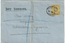 More details for 1912 kevii 3d jury summons registered exeter to george way cheriton fitzpaine