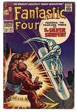 FANTASTIC FOUR (Vol. 1) #55 – Grade 5.0 – 4th Silver Surfer appearance.
