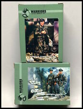 Warriors 1/35 scale WWII German Waffen SS soldiers 35026 & 35038