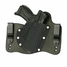 FoxX Leather & Kydex IWB Hybrid Holster Ruger American Compact Black Right
