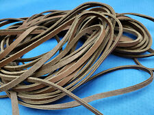 New listing Leather Latigo Lace 1/4in X 50ft Continuous-Chocolate Color- Great for Wrapping!