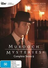 Murdoch Mysteries : Series 9 DVD NEW & Sealed - R4 AUS  2016 - 5-Disc Set