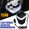 Car Power Inverter DC 12V / 24V To AC 220V Converter USB Charger Adapter 150W