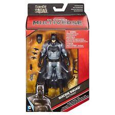 """DC Comics Multiverse Suicide Squad BATMAN 6"""" Poseable Action Figure by Mattel"""