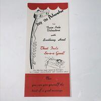 Condition 4 Pages Black /& White DETROIT TRIPLE FANFAIR 1976 Promotional Flyer F
