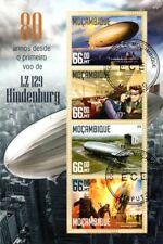 Zeppelin LZ-129 HINDENBURG DISASTER Airship Aircraft Stamp Sheet/2016 Mozambique