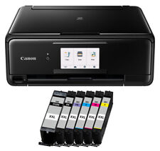 Canon PIXMA TS 8150 Multifunktionsgerät Farbtintenstrahl All-in-One +6 XXL TINTE