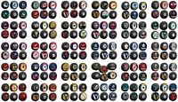 NHL 5-Pack Bundle of Collector Hockey Pucks by Inglasco - All 31 Teams Available